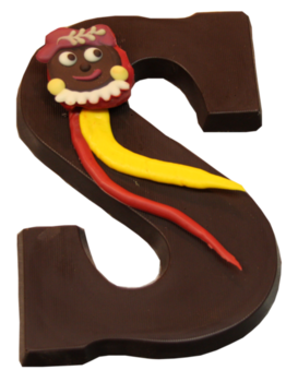 Chocoladeletter puur