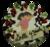Slagroomtaart met uw eigen afbeelding/foto