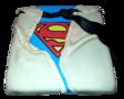 Superman taart