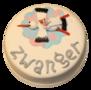 Zwanger taart