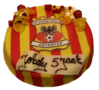 Go Ahead Eagles taart